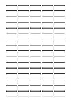 34mm x 15mm Sheet layout 1