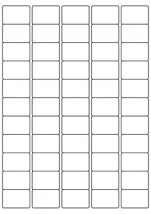 38mm x 25mm sheet layout