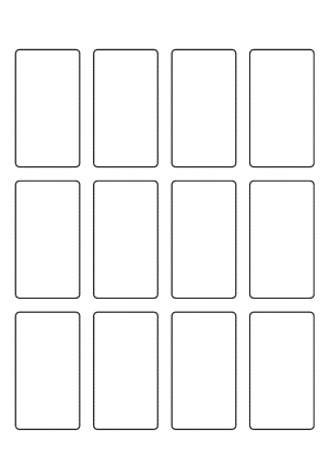41mm x 71mm Sheet layout