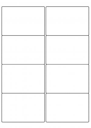 99mm x 67mm Sheet layout