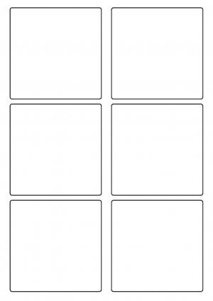 90mm 90mm Sheet layout