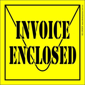 invoice-enclosed