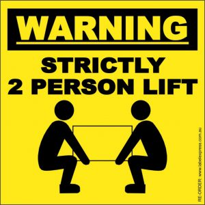 strictly 2 person lift